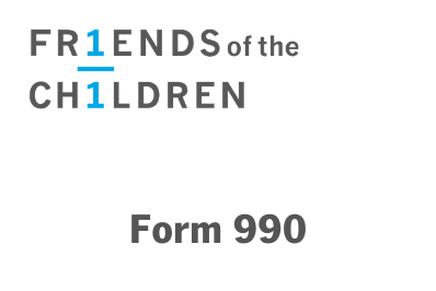 Friends of the Children Form 990