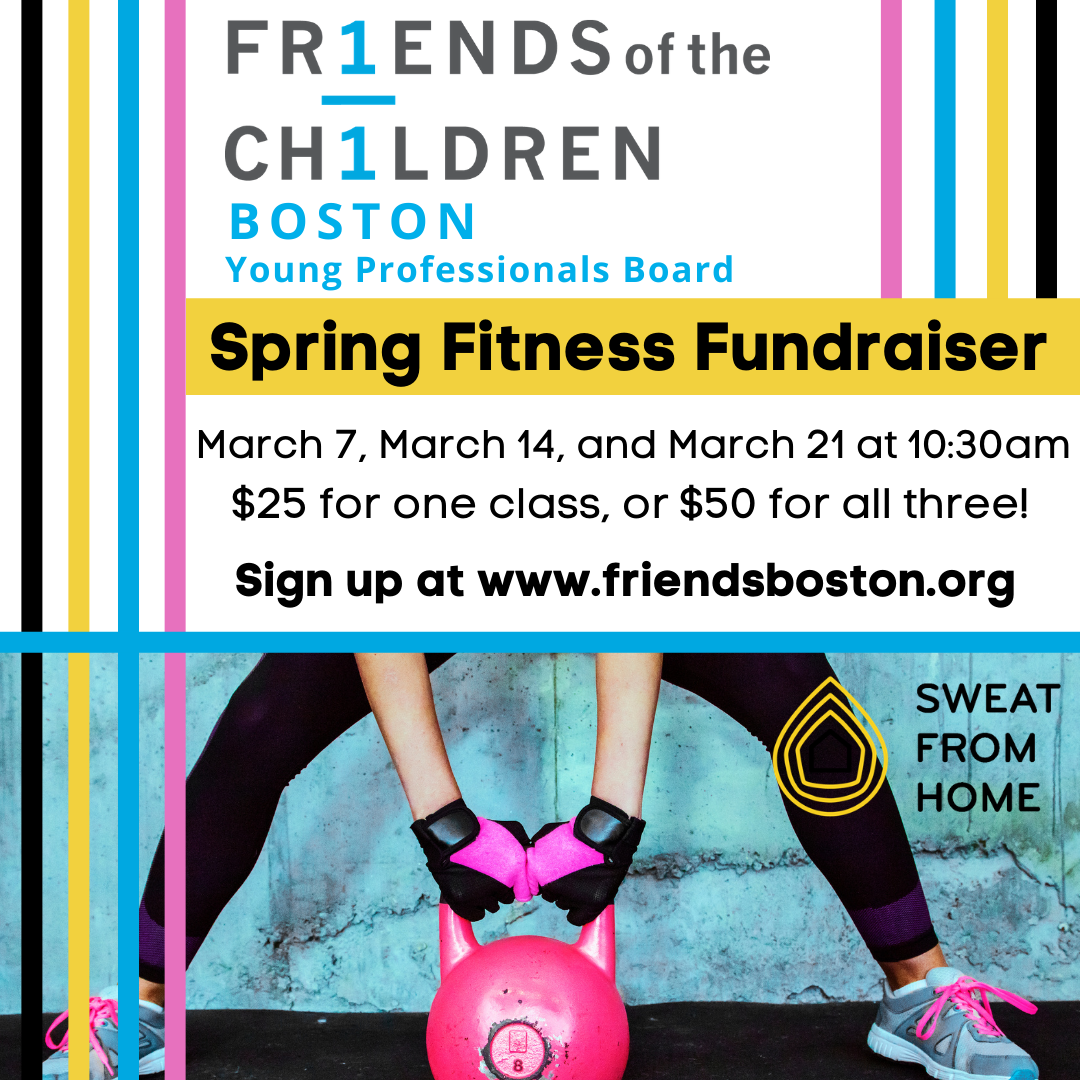 Friends-Boston Young Professionals Fitness Fundraiser